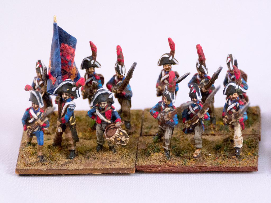 Walloon Guards - true Diehards. The 4th battalion of this regiment suffered 80% casualties at Gamonal before surrendering.