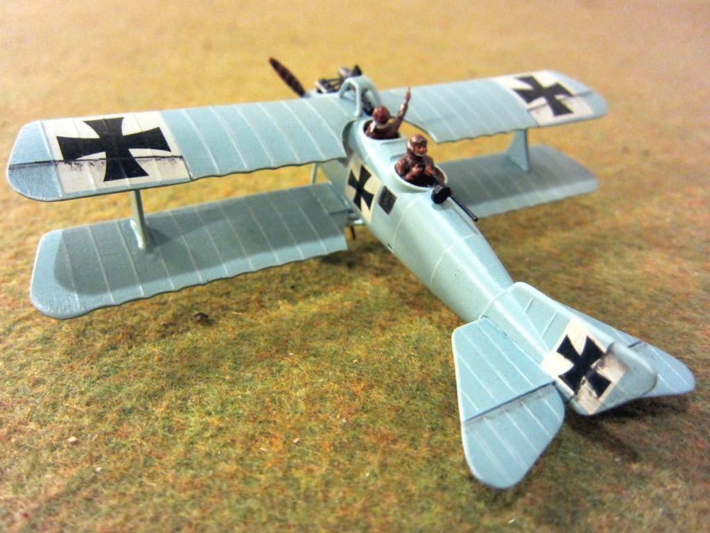 CanvasEagles41 Airfix L.F.G. Roland C.II Ritter von Schleich