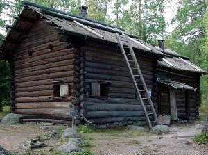 Typical Eastern Finland (Karelia) house, 1820-1825