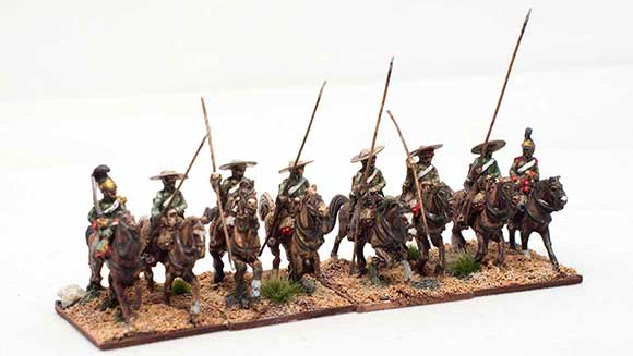 bailen garrochistas small Spanish lancer conversion