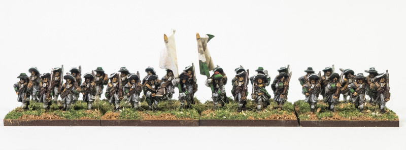 Front view of Regiment Lorraine