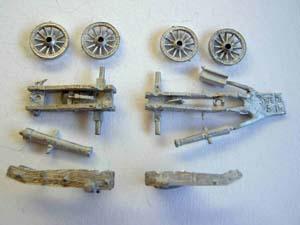 Minifigs artillery
