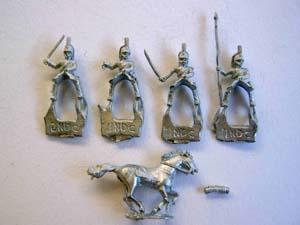 Minifigs heavy dragoons