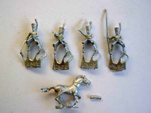 Minifigs light dragoons
